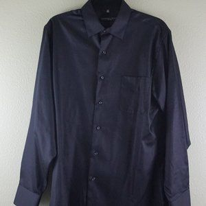 Other - Geoffrey Beene Black Dress Shirt 16.5 34/35 Fitted